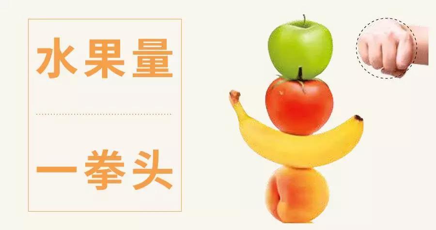 水果量一拳头